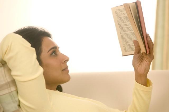 Enjoying others books