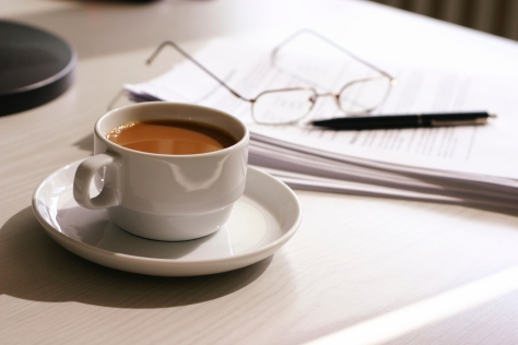 My mornings start with a pen, paper, and a cup of coffee!