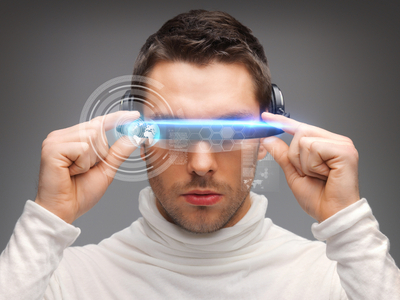 Futuristic glasses image by Syda Productions via Shutterstock